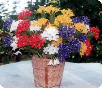 ดอกไม้ใบยางพารา
